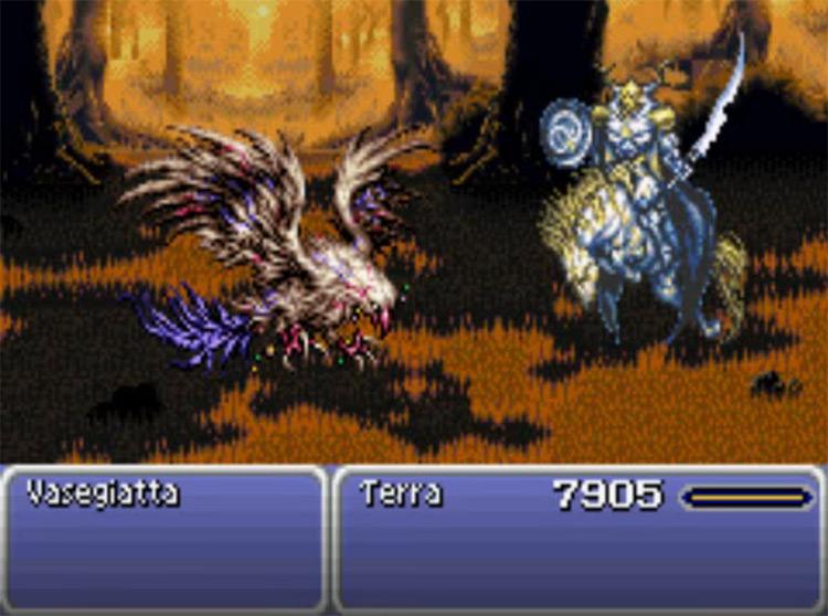 Odin esper in Final Fantasy 6