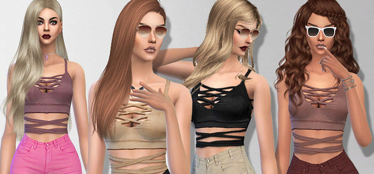 Sims 4 Thot CC: Outfits, Hairdos & More (SFW)