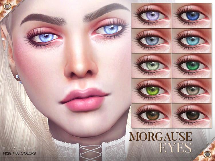 Morgause Diva Eyes / Sims 4 CC