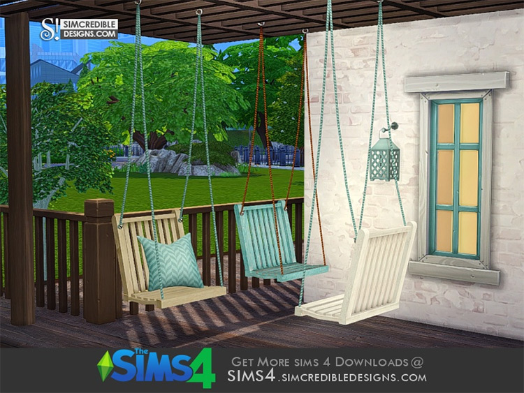 Breezy Swing Chair Static for Sims 4