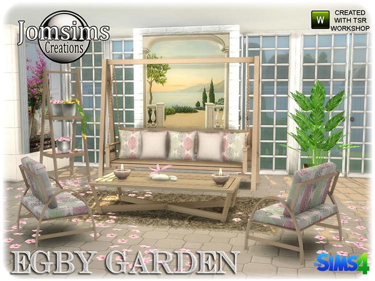 Egby Garden Sims 4 CC