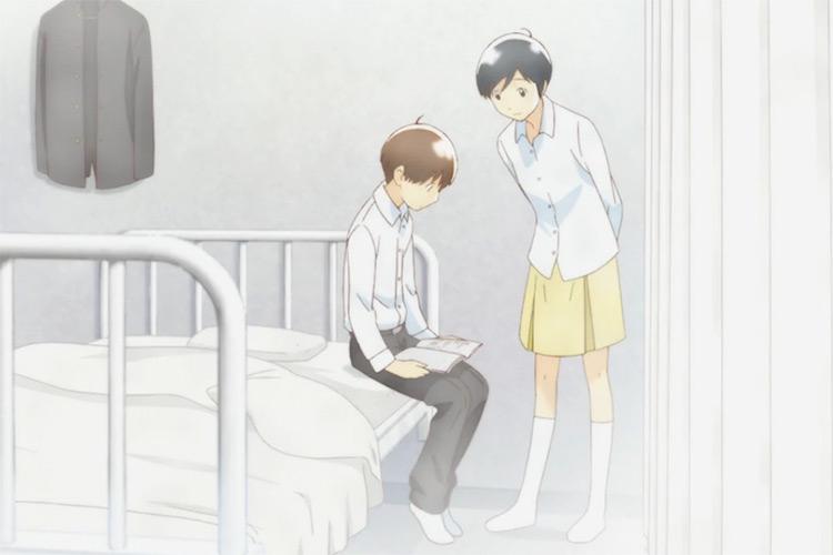 Yoshino Takatsuki & Shuichi Nitori from Wandering Son anime