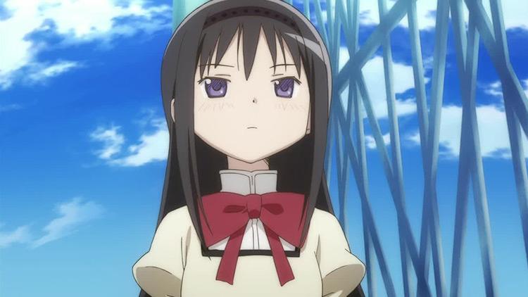 Akemi Homura in Puella Magi Madoka Magica anime