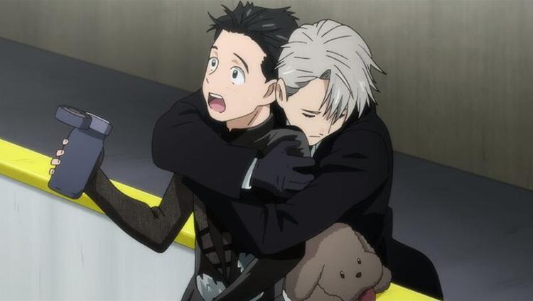 Yuri Katsuki & Viktor Nikiforov from Yuri on Ice anime