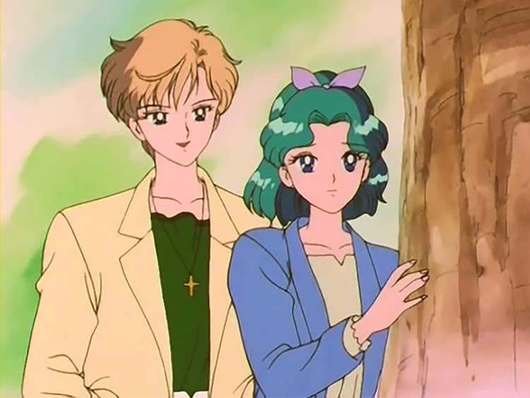 Sailor Neptune & Sailor Uranus from Sailor Moon