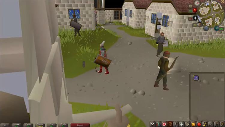 Taverley OSRS game screenshot