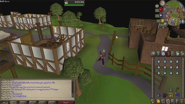 Brimhaven Player House in OSRS