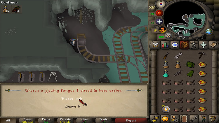 Haunted Mine Quest in OSRS