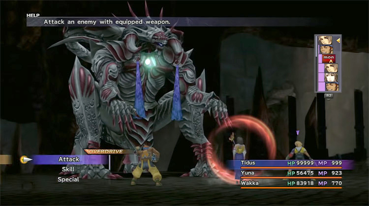 Ultima Weapon - Omega Ruins FFX Enemy