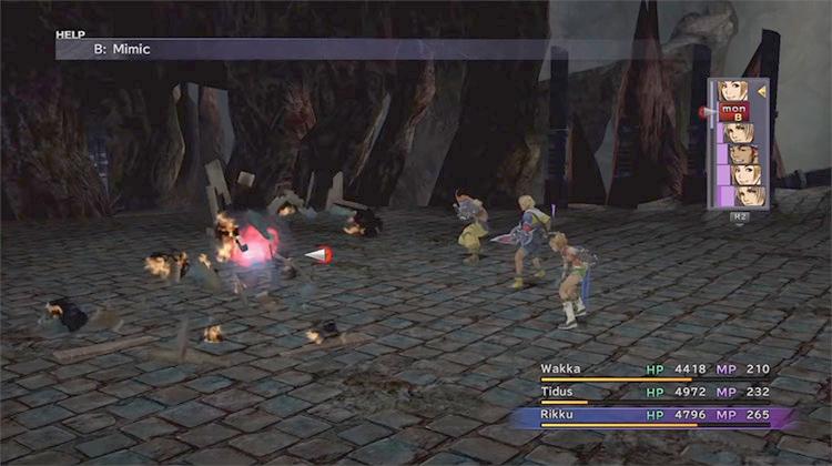 Mimic - Omega Ruins in Final Fantasy X
