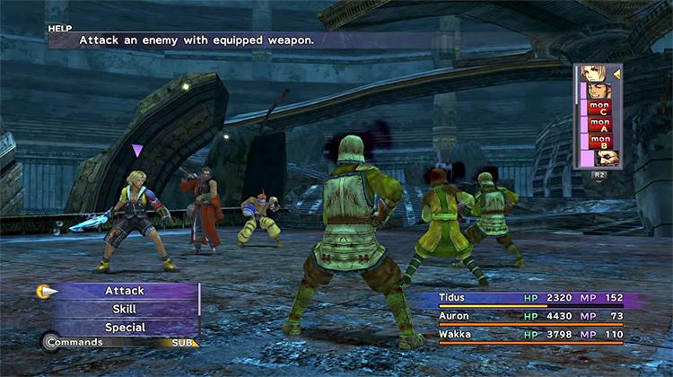 Fallen Monks - Ruins of Zanarkand FFX Screenshot