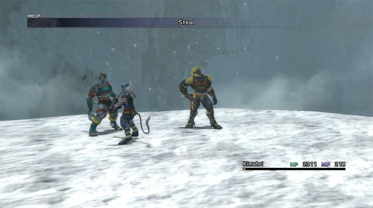 Biran and Yenke Ronso - Mt. Gagazet Enemy in FF10