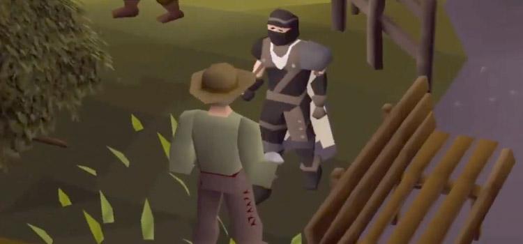 Facing a Master Farmer in Old School RuneScape