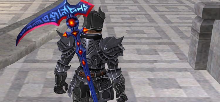 Dark Knight with Scythe Build in FFXI