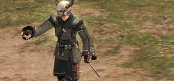 Samurai with Valhalla Helm in FFXI