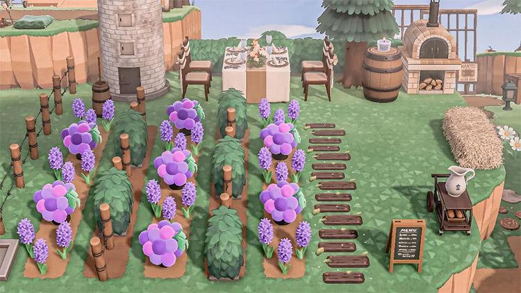 Vineyard Restaurant Idea for New Horizons