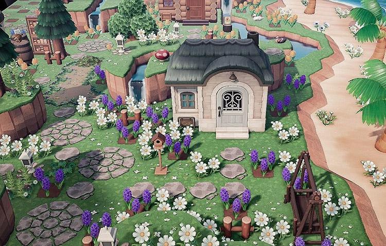 Springtime in the suburbs / ACNH Idea