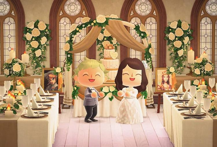 Zelda-themed Wedding idea for ACNH