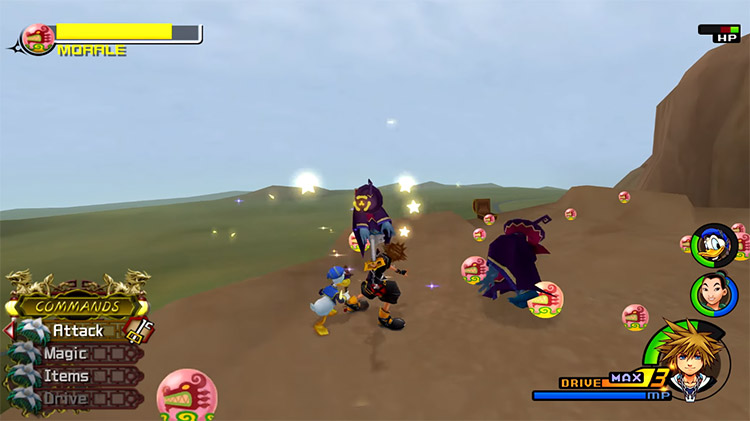 Land of Dragons Grinding in KH 2.5 HD