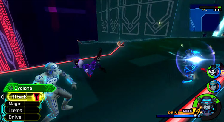 Grinding in Space Paranoids in KH 2.5 HD