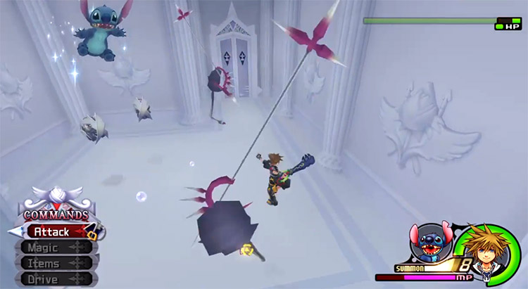 Radiant Garden Transport to Remembrance in KH 2.5 HD