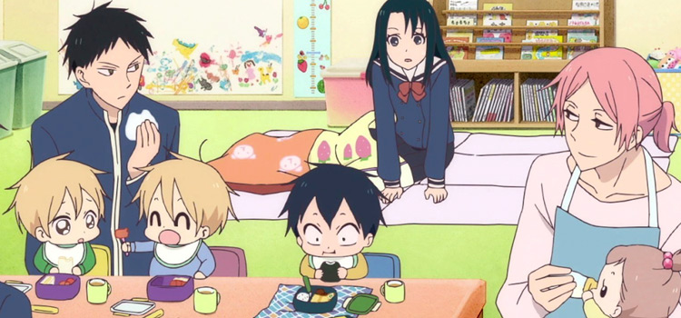 Anime School Babysitters funny screenshot