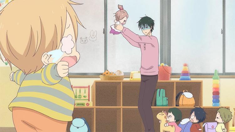 School Babysitters anime screenshot