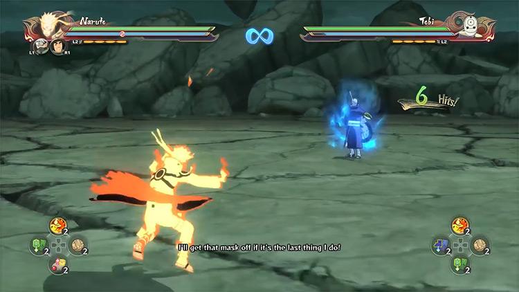 Naruto Shippuden: Ultimate Ninja Storm 4 - Naruto vs Tobi