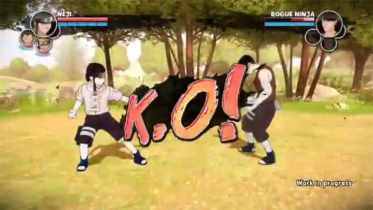 Naruto: The Broken Bond - El juego de Neji