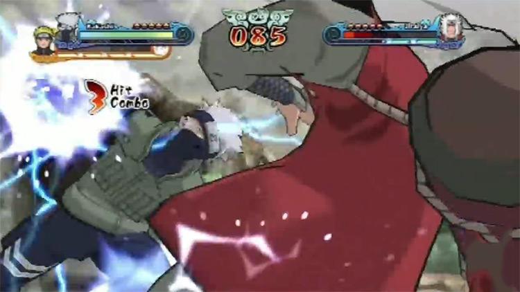 Naruto Shippuden: Choque de Ninja Revolution 3 Longplay