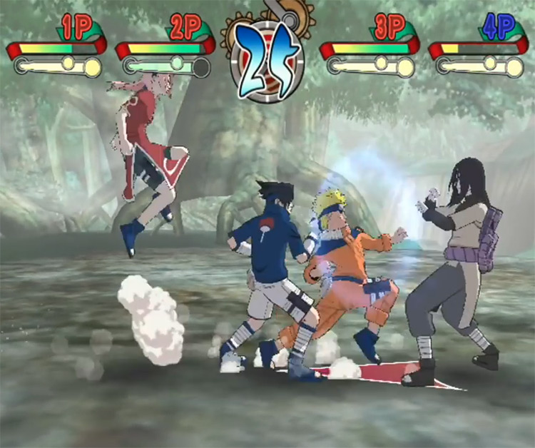 Naruto: Choque de Ninja 2 Oponente de Orochimaru