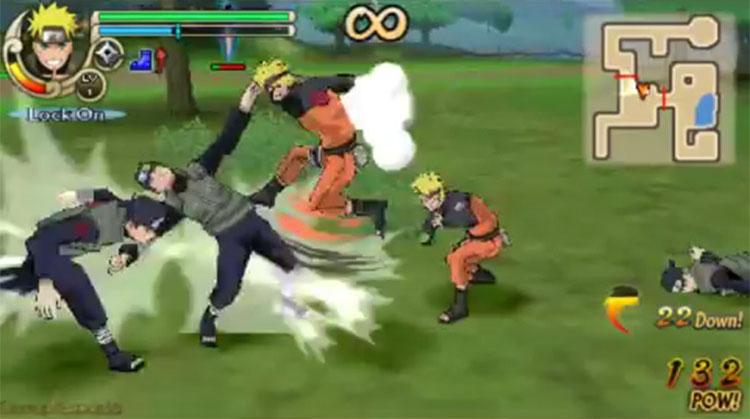 Naruto Shippuden: Ultimate Ninja Impact Shadow Clone Jutsu