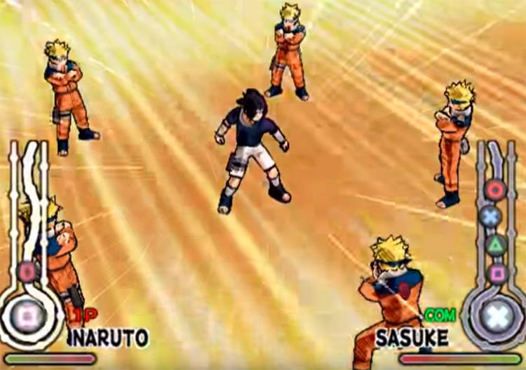 Naruto: Ultimate Ninja - Naruto vs Sasuke