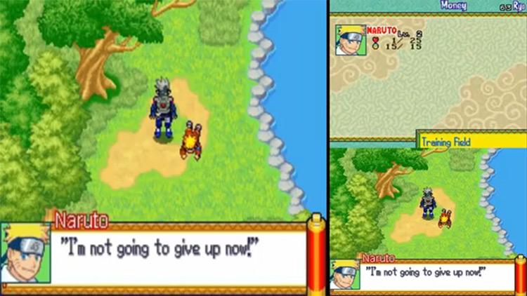 Clip del juego Naruto: Path of the Ninja