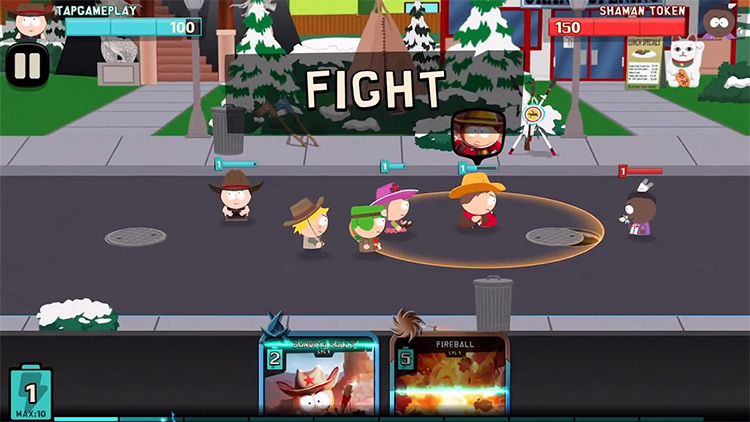 South Park: Phone Destroyer Gameplay Screenshot