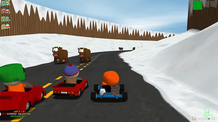 South Park Rally PC Gameplay Screenshot