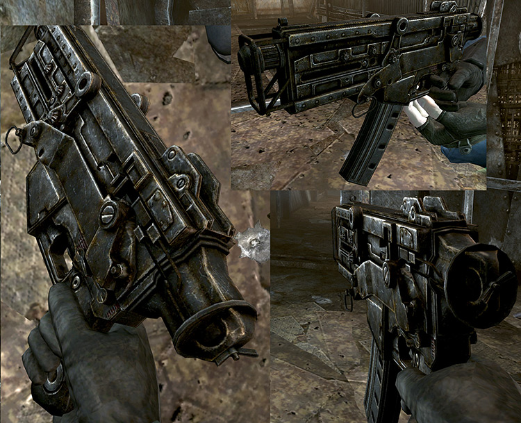 Weapons Retexture Project Fallout 3 Mod