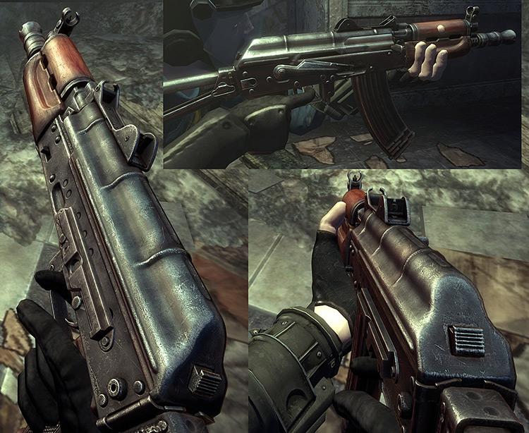 AKS-74u Fallout 3 Mod