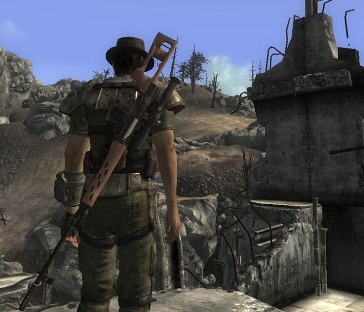 SVD Dragunov Fallout 3 Mod