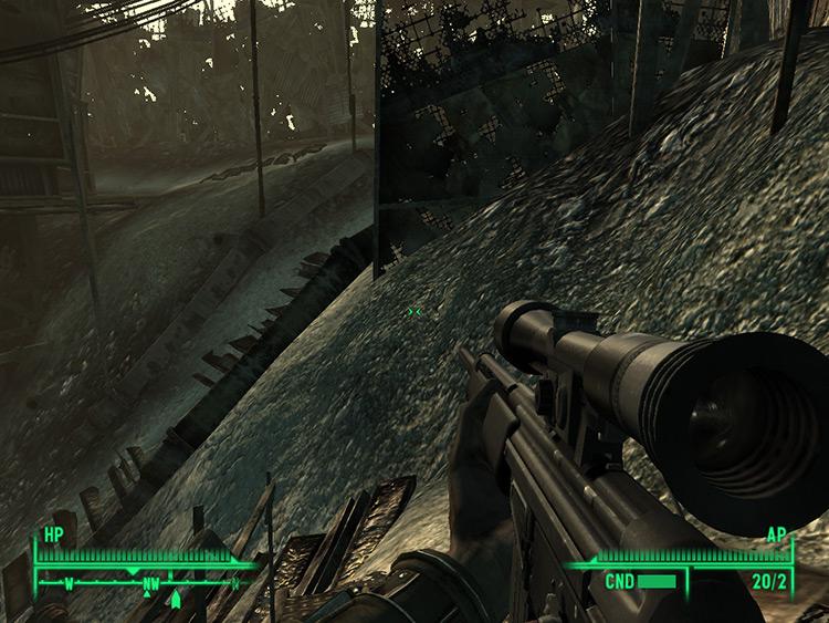 HK PSG 1 Fallout 3 Mod