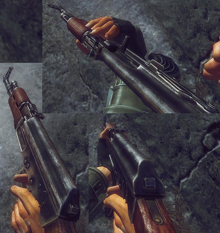 AK-47 Replacer Fallout 3 Mod
