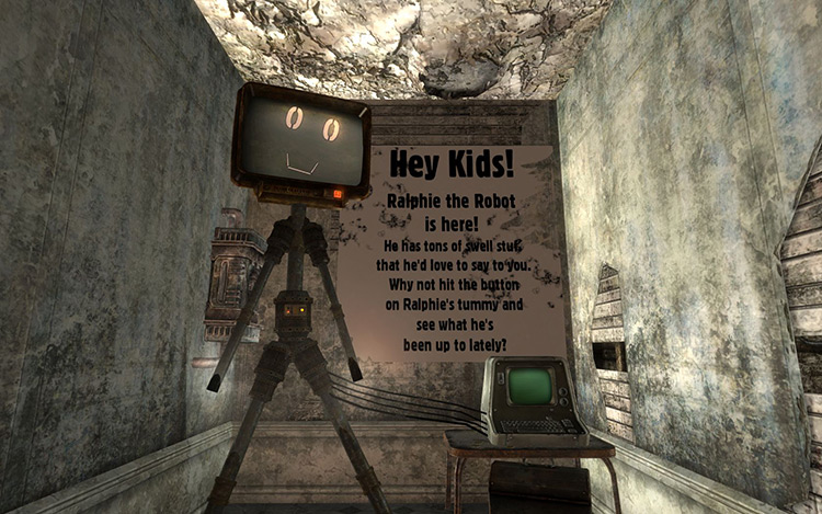 A Note Easily Missed Fallout 3 Quest Mod