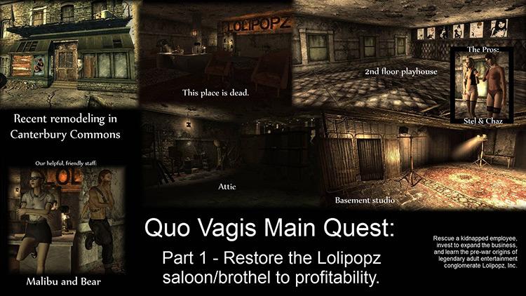 Quo Vagis Fallout 3 Quest Mod
