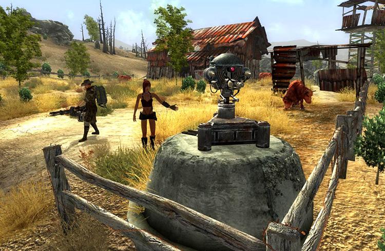 The Regulators Fallout 3 Quest Mod