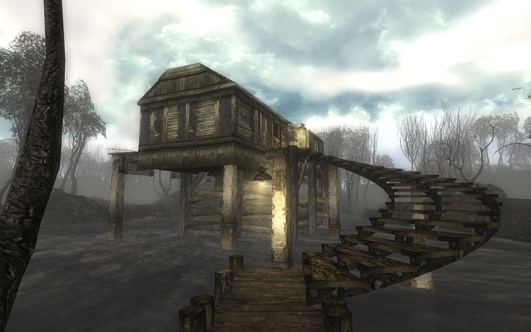 In the Shadow of the Swamp Fallout 3 Quest Mod