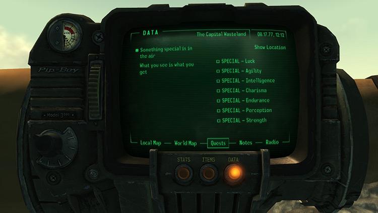 Bobblehead Quest Fallout 3 Quest Mod