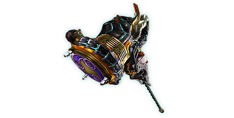 Takemikazuchi weapon in Bayonetta 2