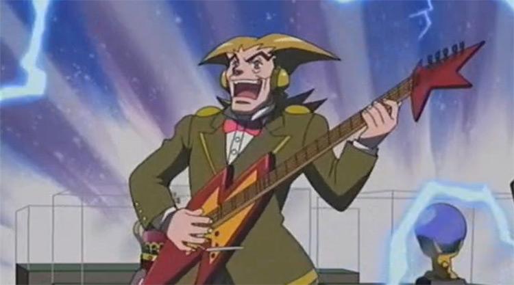 Count Zap in Megaman anime
