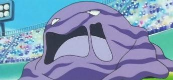 Muk in the Pokemon Anime