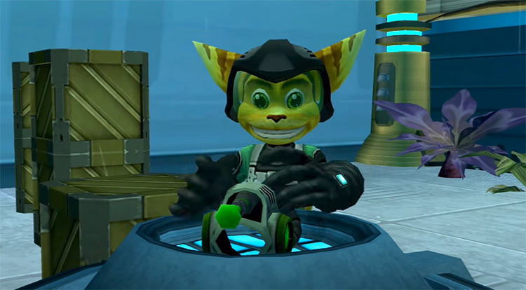 Ratchet & Clank: Going Commando gameplay